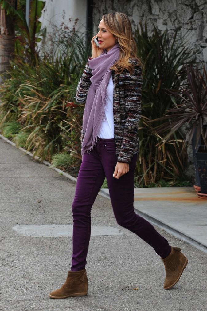 Le pull et les chaussures Isabel Marant de Stacy Keibler