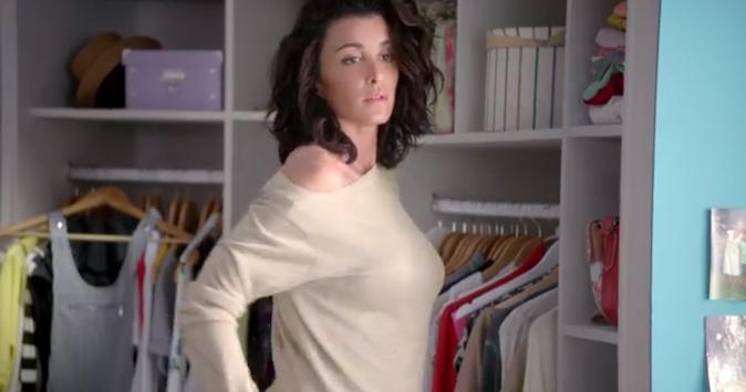Jenifer, égérie tendance et sexy pour La Halle !