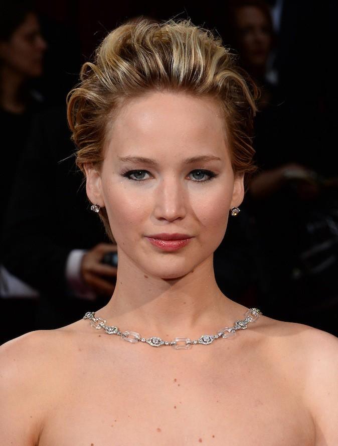 Jennifer Lawrence et ses bijoux Neil Lane à 3,5 millions de $