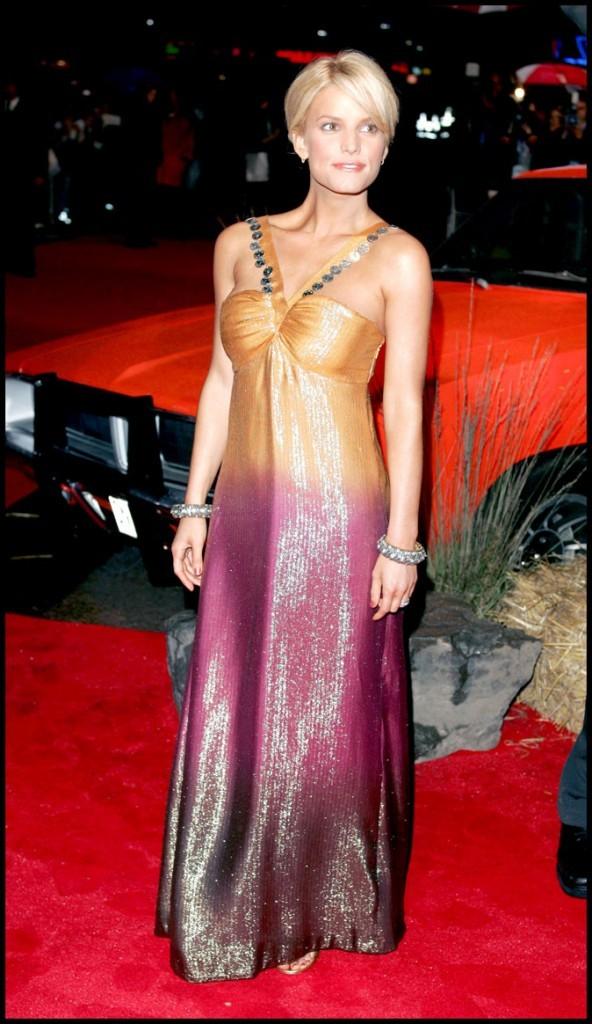 Une robe dégradée pour le red carpet?