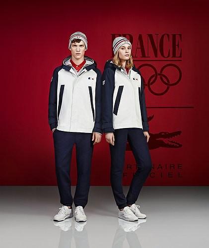 Lacoste habille nos athlètes français pour les J.O. 2014 à Sotchi !