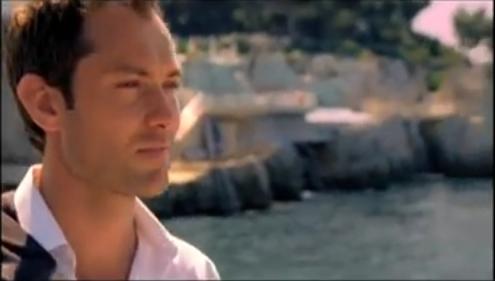 Jude Law pour la publicité du parfum Dior Homme Sport