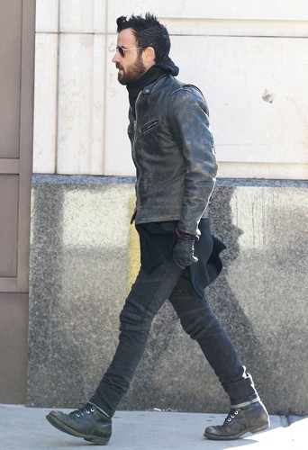 Justin Theroux le 4 mars 2013 à New York.