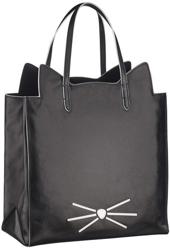 Sac en cuir de la collection Karl Lagerfeld inspirée de Choupette, 340€