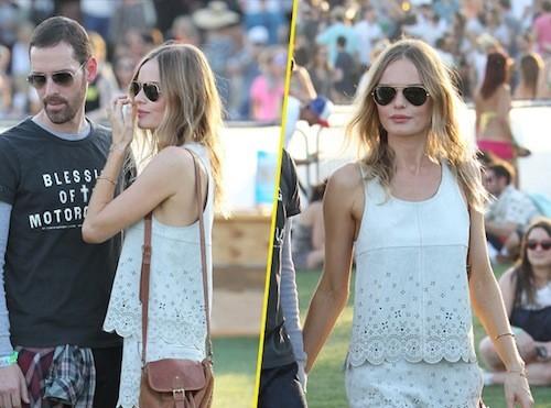 Kate Bosworth porte une de ses créations pour Topshop !