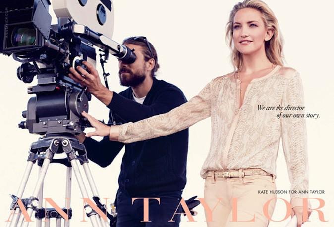 Kate Hudson pour Ann Taylor !