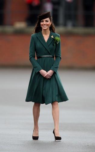Kate Middleton pour la Saint-Patrick 2012 !