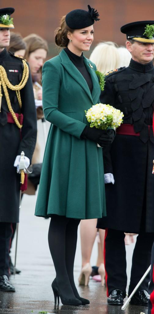 Kate Middleton pour la Saint-Patrick 2013 !