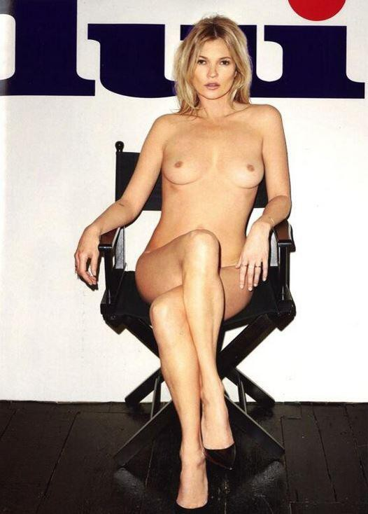 """Mode : Kate Moss : elle nous montre ses fesses sur la couverture de """"Lui"""" !"""