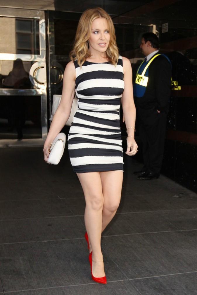 Kylie Minogue, créatrice de chaussures