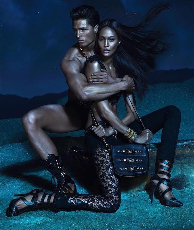 Joans Smalls et Edward Wildwig pour Versace