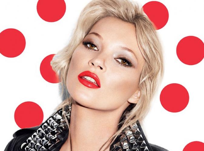Mode : Kate Moss : un top engagé, elle lance un rouge à lévres pour la bonne cause !