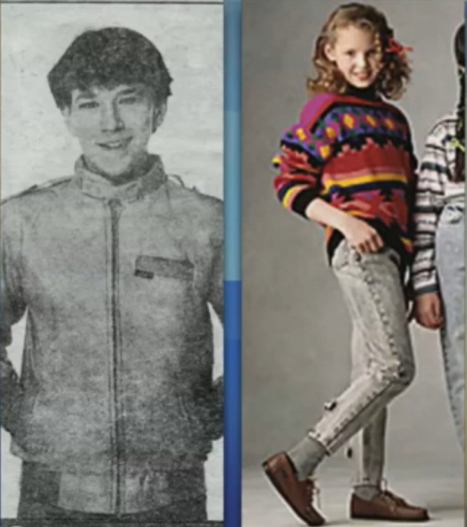 Katherine Heigl posant pour une campagne de publicité à l'âge de 9 ans
