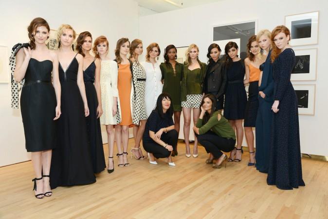 Katie Holmes a présenté sa collection à la Fashion Week de New York !