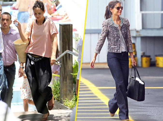 Mode Katie Holmes Est Un V Ritable Cam L On Fashion