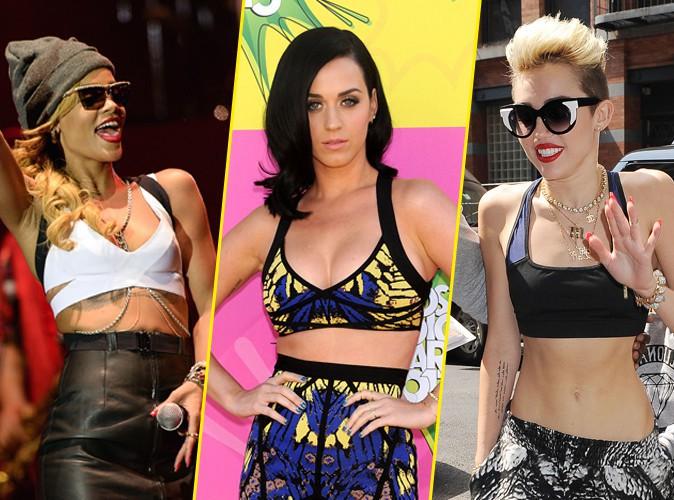 Katy Perry, Rihanna, Miley Cyrus…Elles craquent toutes pour la brassière !