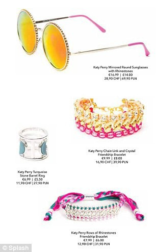 Mode : Katy Perry sort une collection Coachella pour Claire's !