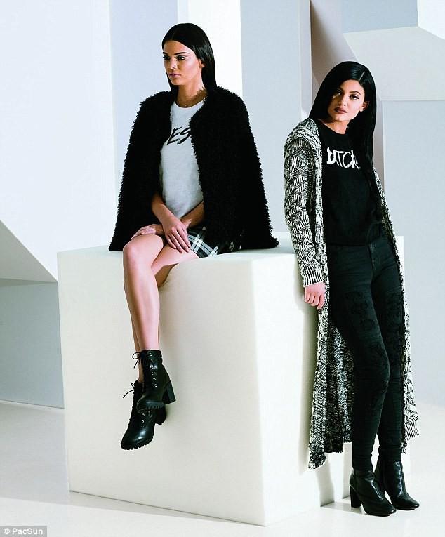 Mode : Kendall et Kylie Jenner : découvrez les superbes images de leur nouvelle collection pour Pacsun !
