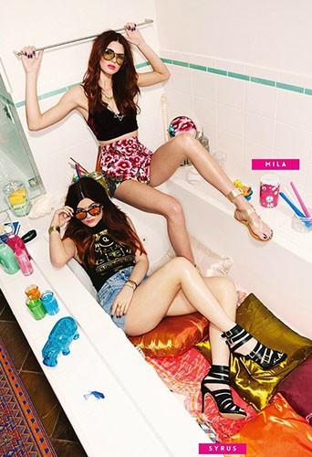 Mode : Kendall et Kylie Jenner : soeurs et mannequins sexy pour Steve Madden !