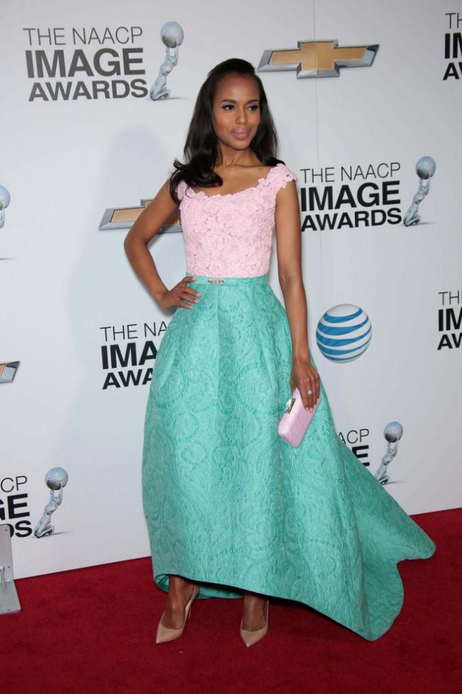 """Mode: Kerry Washington, une fois de plus élue """"femme la mieux habillée au monde !"""""""