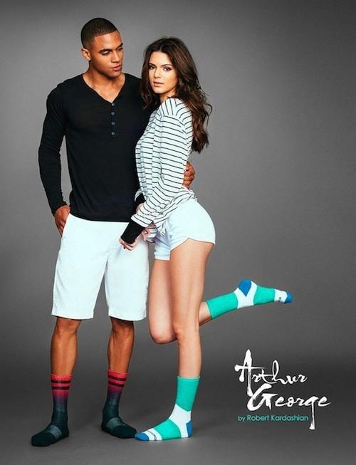 La campagne de chaussettes Arthur Georges