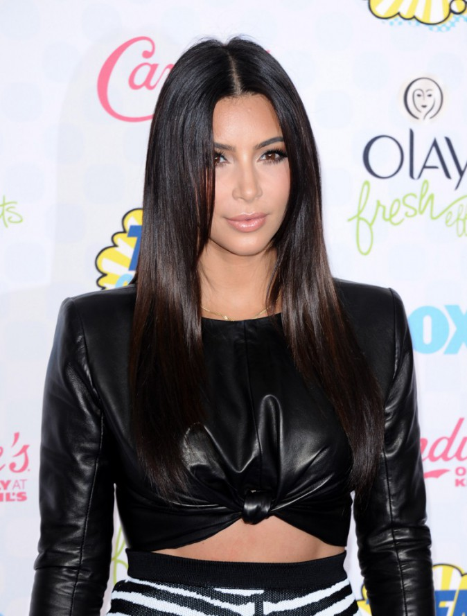 Kim Kardashian le 10 août 2014