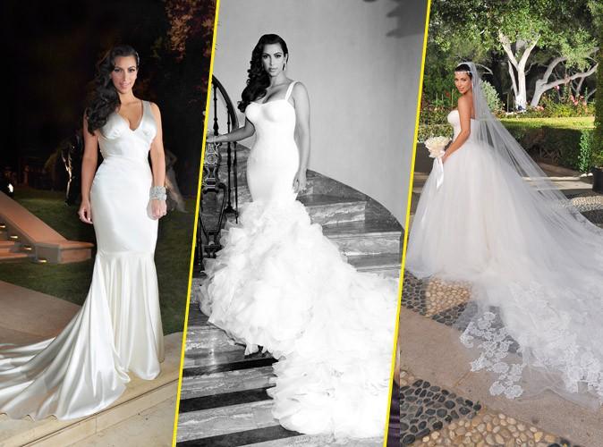 Kim Kardashian  sa robe de mariée ? Kanye West sen charge !