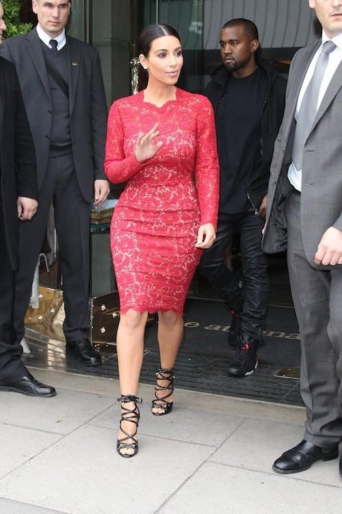 Kim Kardashian, le 08/05/2012
