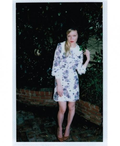 Kirsten Dunst : un modèle ultra-naturel shooté son boyfriend pour Wren !