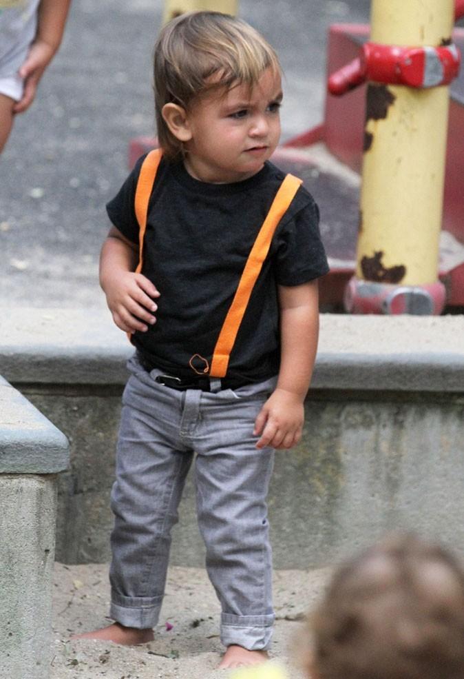 Les bretelles oranges de Mason Kardashian !