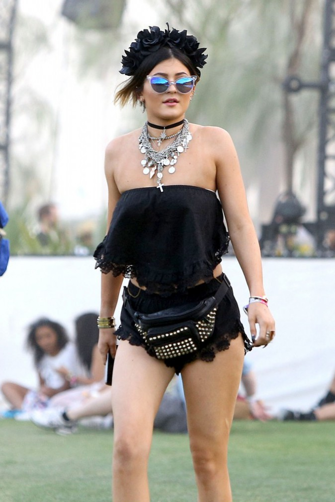 Elle a également fait fureur à Coachella à la taille de Kylie Jenner