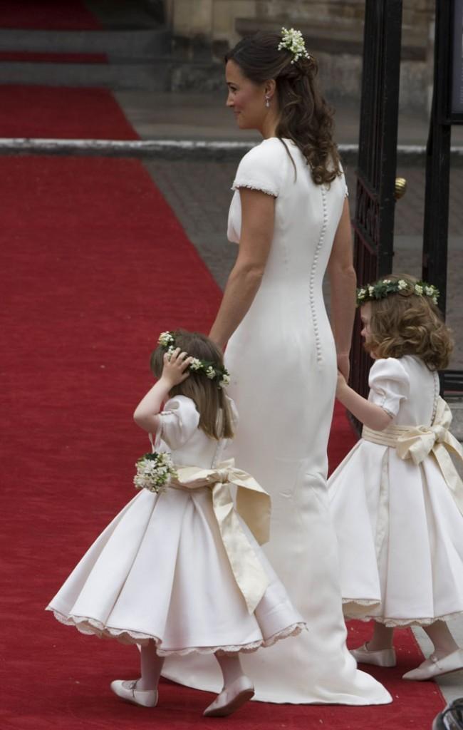 Le jour du mariage de sa soeur donc avec !