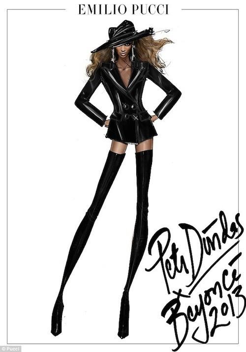 Beyoncé, tout de cuir vêtue !