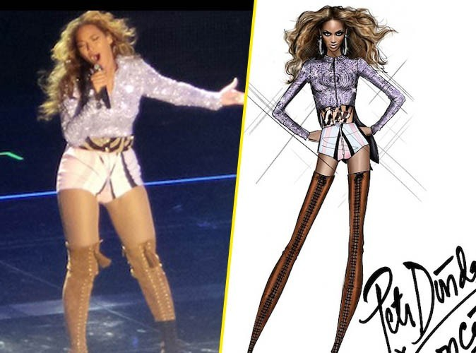 La marque Emilio Pucci a dévoilé les esquisses des tenues de la tournée de Beyoncé !