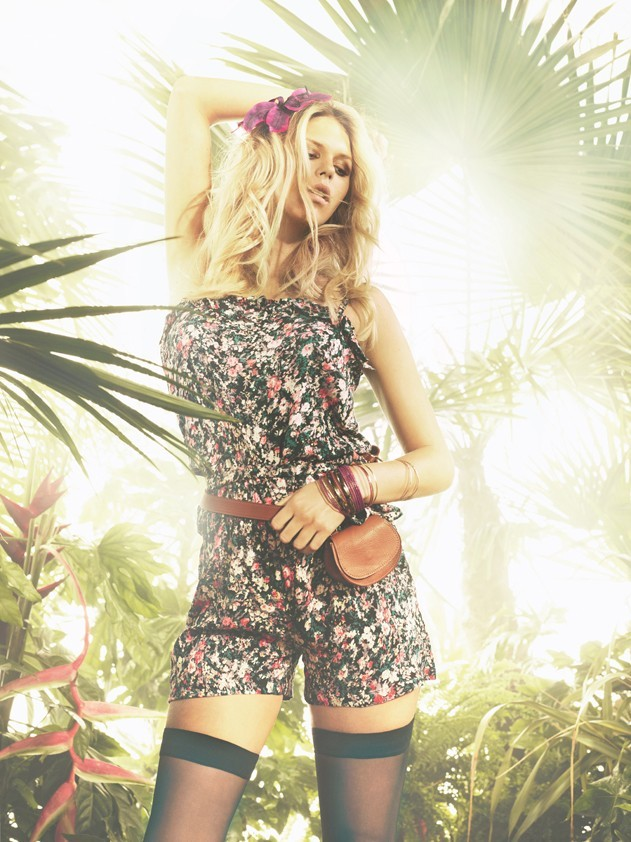 Alexandra Richards so fresh pour Tally Weijl, campagne printemps été 2011