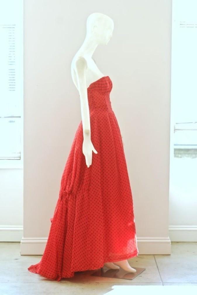 Robe Dior Vintage vendue aux enchères