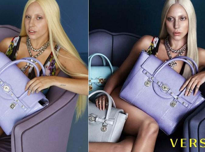 Mode : Lady Gaga : les photos volées non retouchées de sa campagne pour Versace !