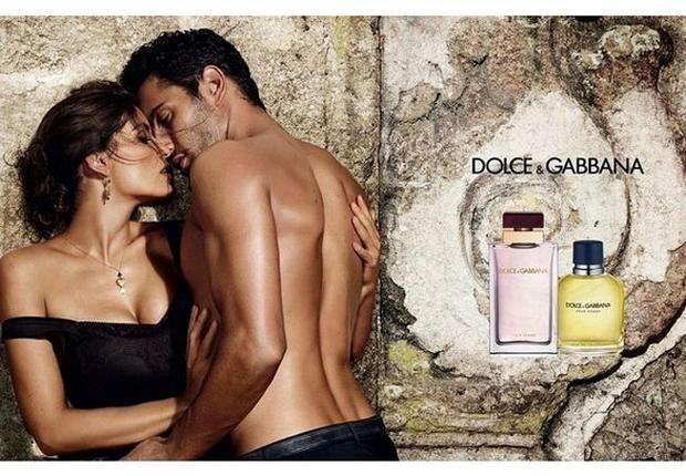 Laëtitia Casta et Noah wills pour Dolce&Gabbana