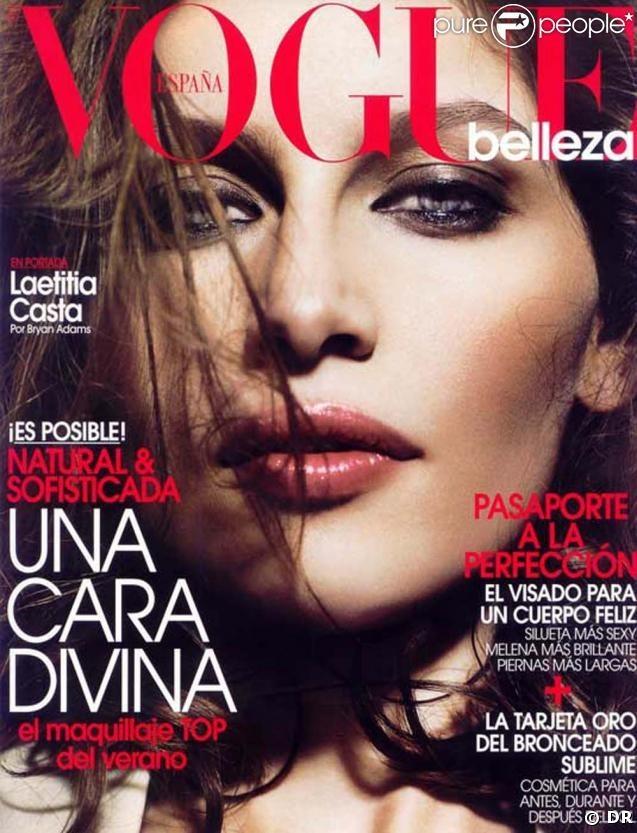 Mai 2009 : couverture du Vogue Espagne