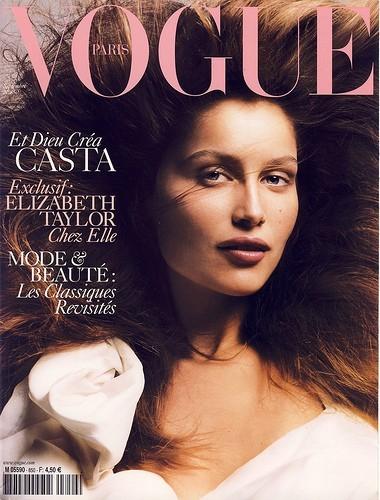 Septembre 2004 : couverture du Vogue France