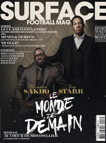 JoeyStarr et Mamadou Sakho pour le magazine Surface !