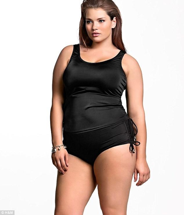 Mode : Tara Lynn en maillot de bain H&M !