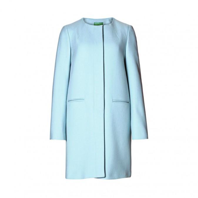 Manteau en laine, Benetton 149 €