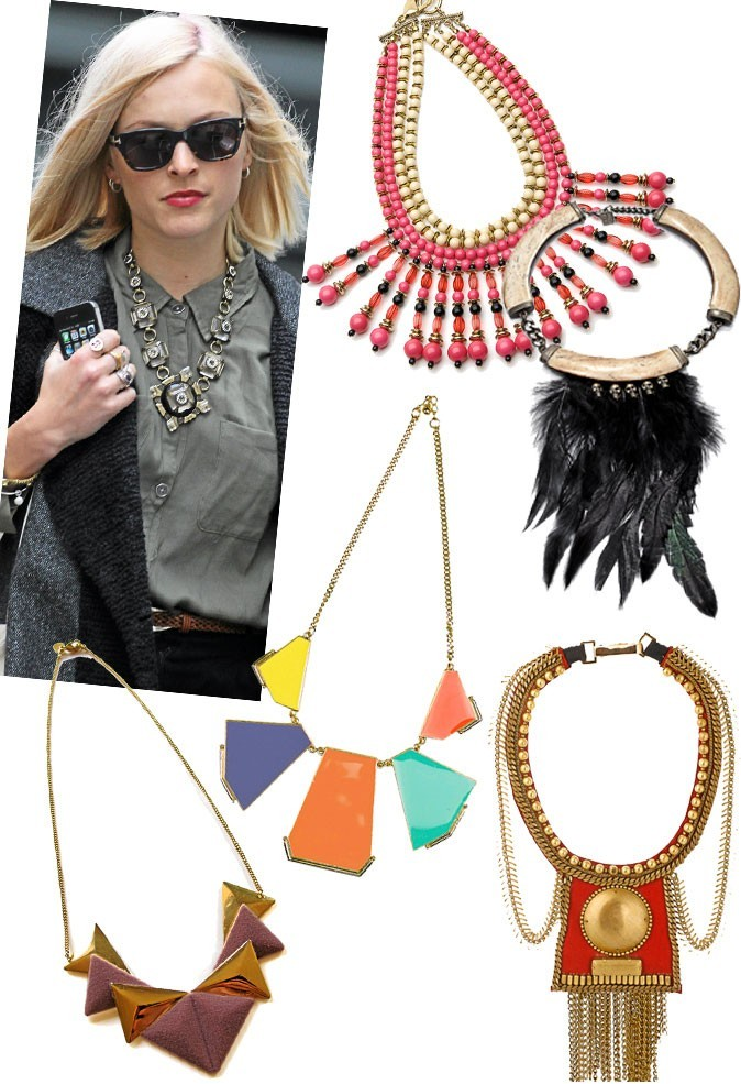 Le collier plastron comme Fearne Cotton