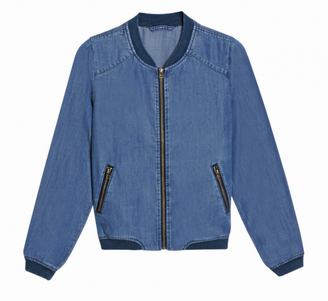 Teddy en denim, Camaïeu, 39€