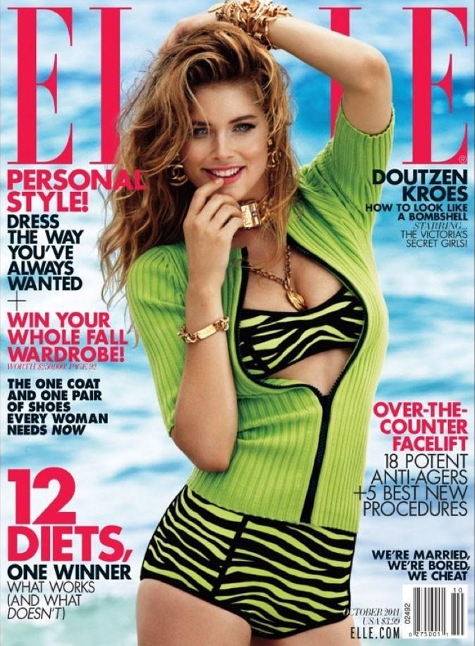 Doutzen Kroes fait la couverture de Elle !