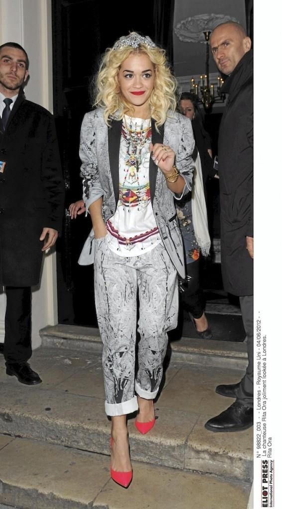 Rita Ora, toujours au top !