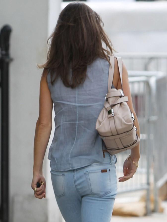 Les fesses de Pippa Middleton casual en jean J. Brand !