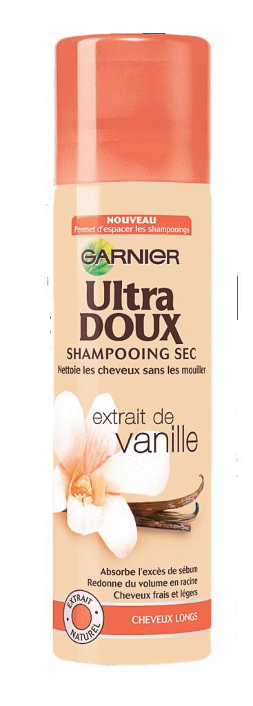 >> Garnier ultra doux shampooing sec