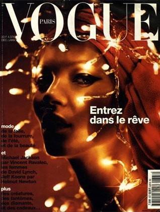 La couverture du Vogue France en Décembre-Janvier 2001 !